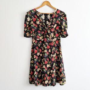 Asos Floral Maternity Sun Dress Size 10